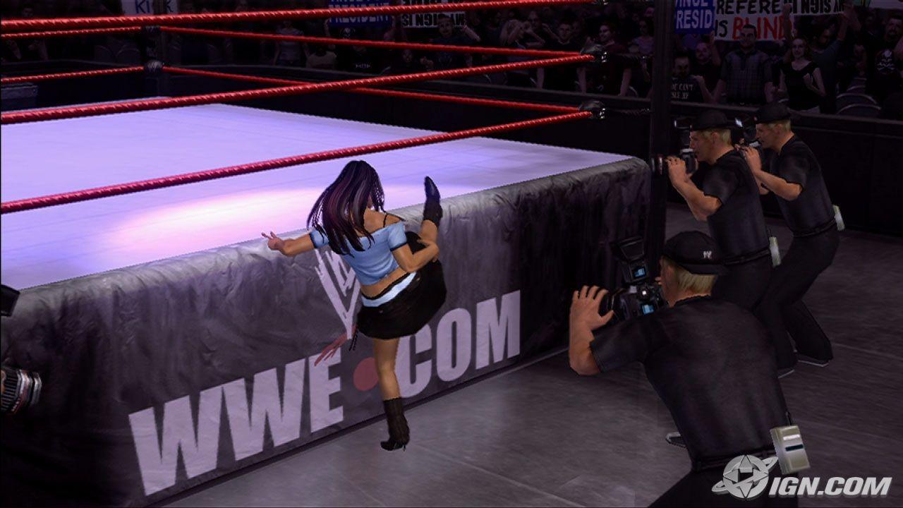 Melina Wwe Smackdown Vs Raw 2007 Roster