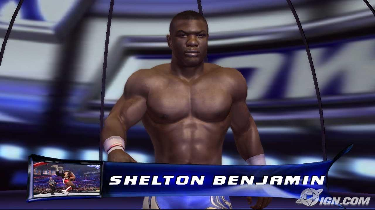 Shelton Benjamin Wwe Smackdown Vs Raw 2007 Roster
