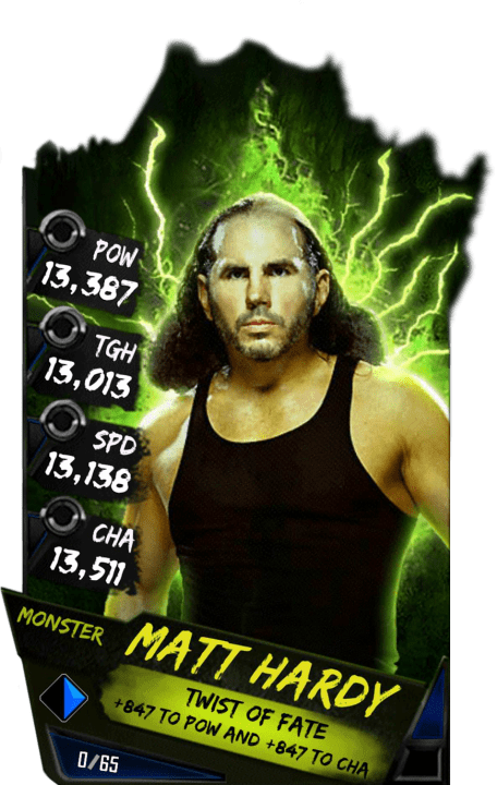 Matt Hardy WWE SuperCard Season 3 Debut WWE