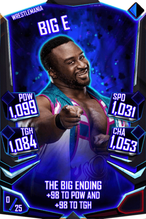 Big E WWE SuperCard Season 1 Debut WWE SuperCard