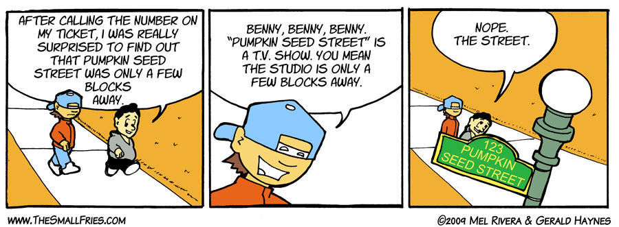 How To Get To Pumpkin Seed Street