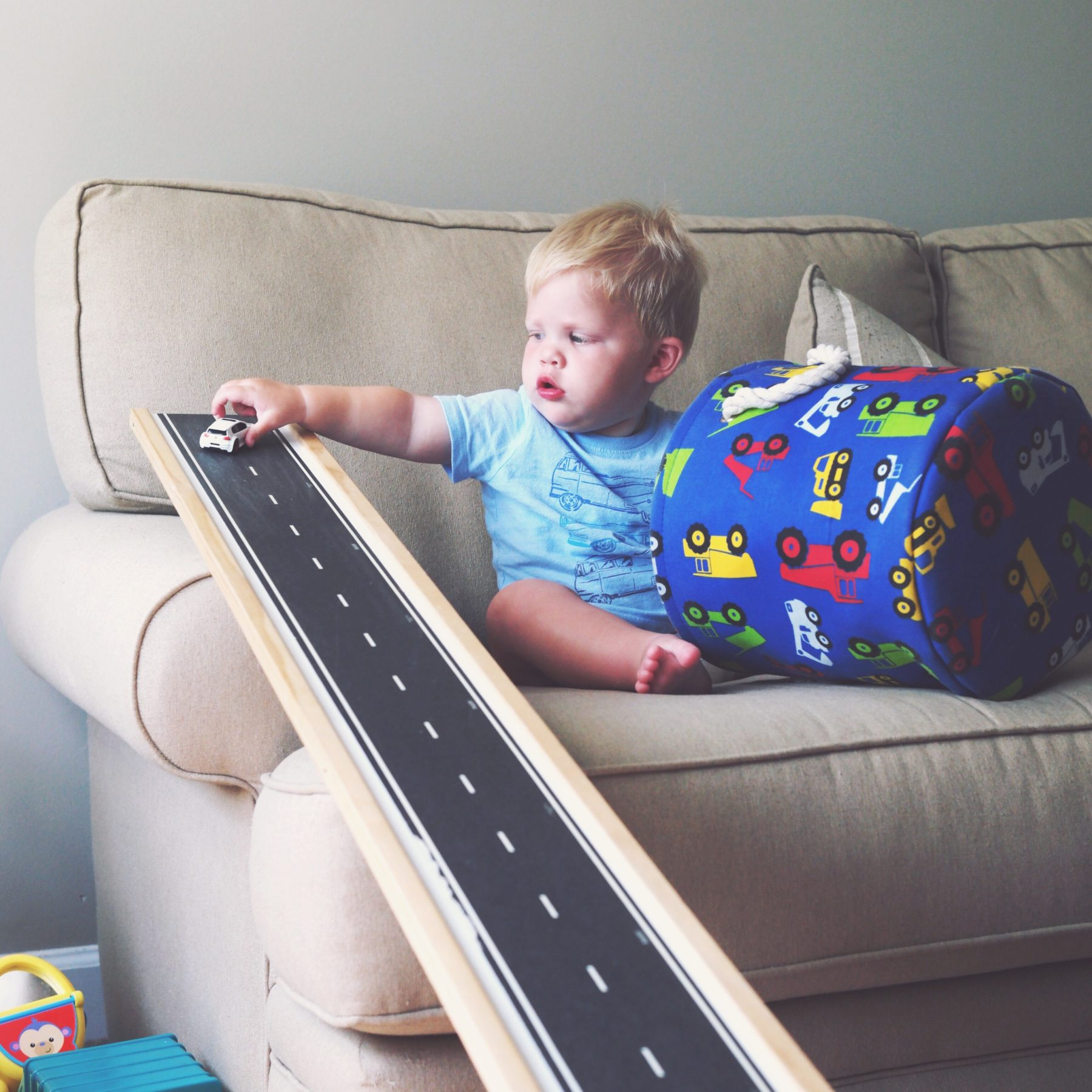 Diy Car Ramp For Kids The Small Things Blog