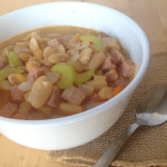 Ham and Bean Soup / The Small Town Foodie