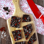Dark Chocolate Bark | The Small Town Foodie