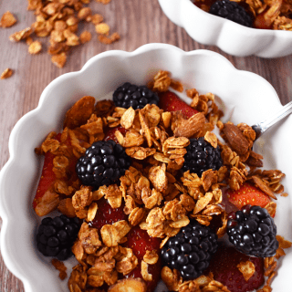 Almond Granola | The Small Town Foodie