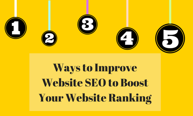 Image result for 5 Ways to Improve Your SEO Ranking