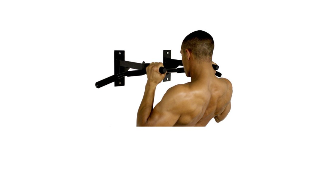 Ultimate Body Press Wall Mounted Pull Up Bar Gold Pick