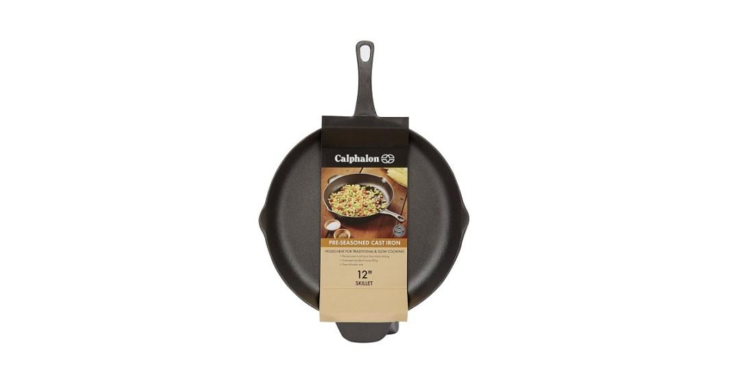 Calphalon Pre-Seasoned Cast Iron Cookware Skillet