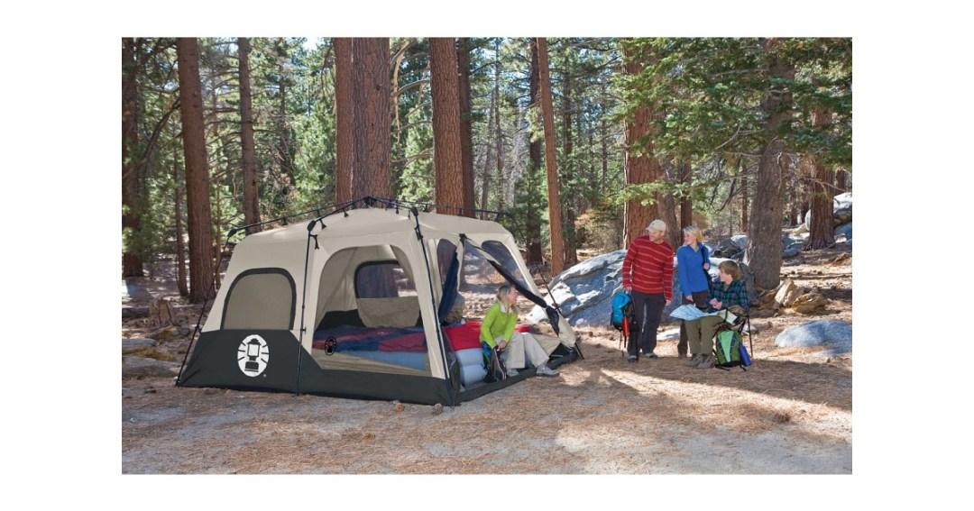 Coleman 8-Person Instant Tent Gold Pick