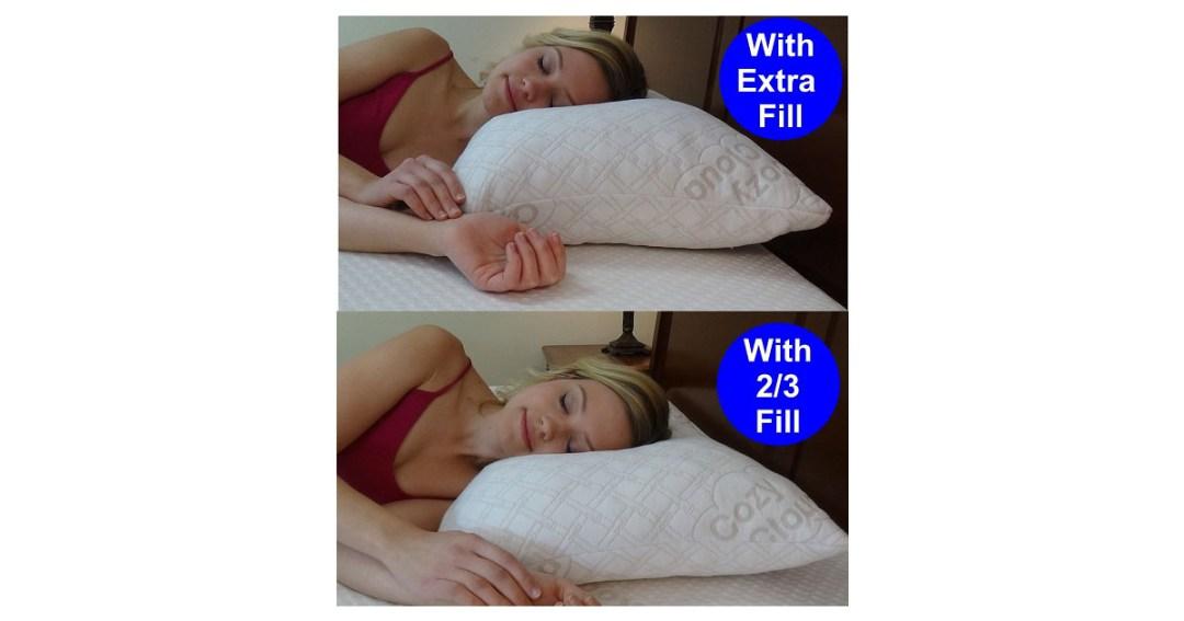 CozyCloud Adjustable Bamboo Pillow Gold Pick