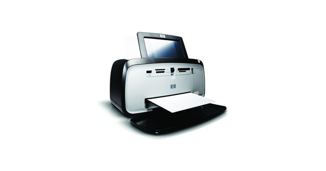 HP Photosmart A636 Compact Photo Printer Gold Pick