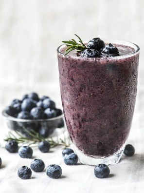 blueberry shake