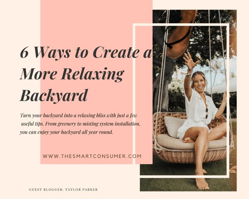 6 Ways to Create a More Relaxing Backyard