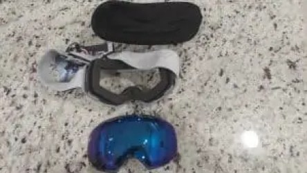 inside of snow pro goggle
