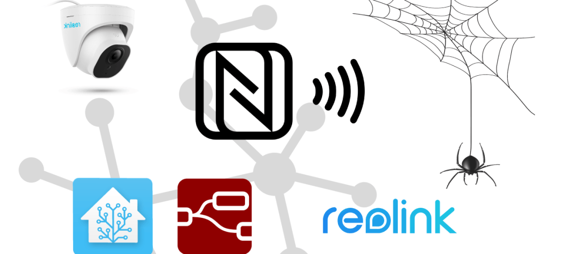Using NFC Tags to create automations in both Home-Assistant & Node-red
