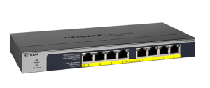8-Port Gigabit Ethernet High-power PoE+ Unmanaged Switch with FlexPoE (123W)