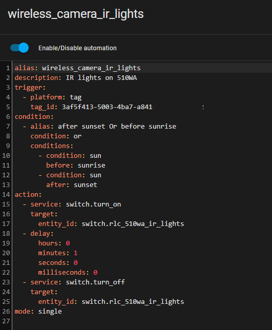 Combining the conditions in YAML using OR