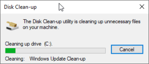 Cleaning Up System Files