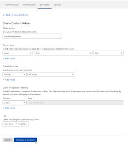 Create the Custom Token