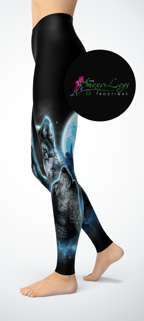 Alpha Pack FULL Length Yoga Band Printed Leggings