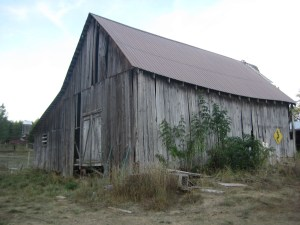 Heritage barn from SW