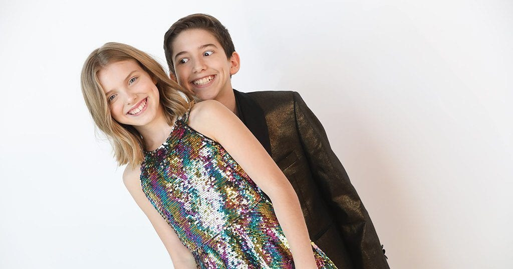 Kadan and Brookyln have been recognized as the youngest professional magician-illusionsists in the world. (photo courtesy of Kadan)