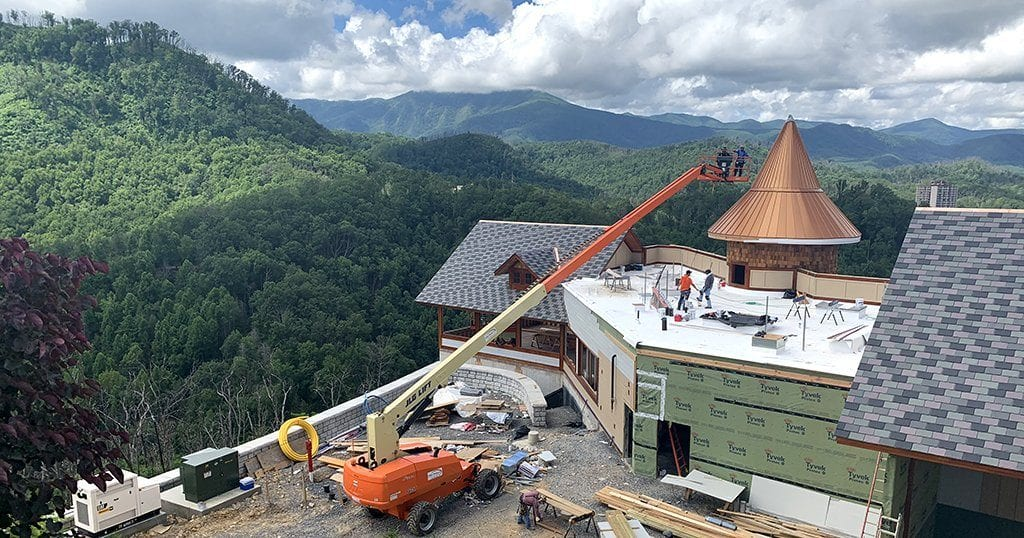 The new restaurant, Smokehouse Barbeque and Brewery, will double Anakeesta's current dining capacity (photo by Morgan Overholt/TheSmokies.com)