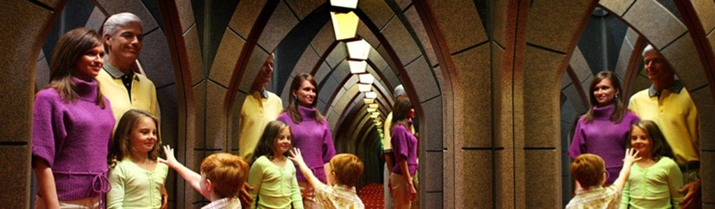 Ripley's Mirror Maze in Gatlinburg, TN (photo courtesy of Ripley's)