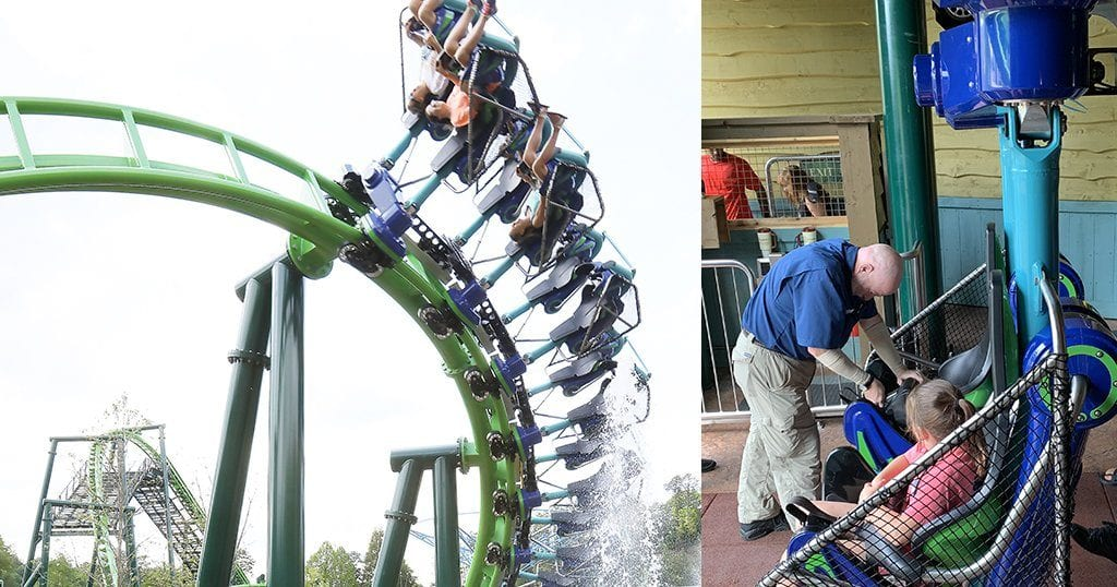 Best Rides at Dollywood: Dragonfllier
