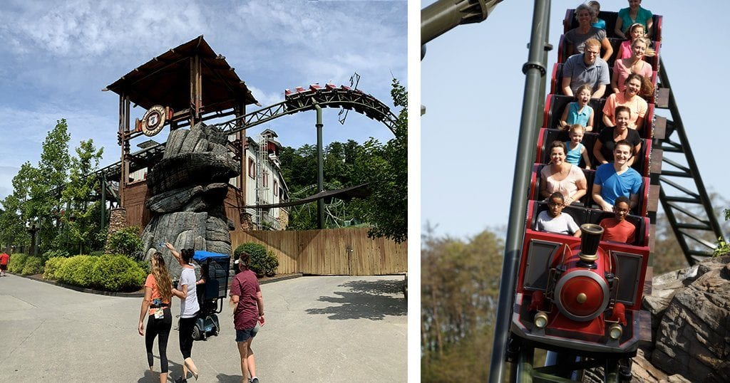 Best Rides at Dollywood - Firechaser Express