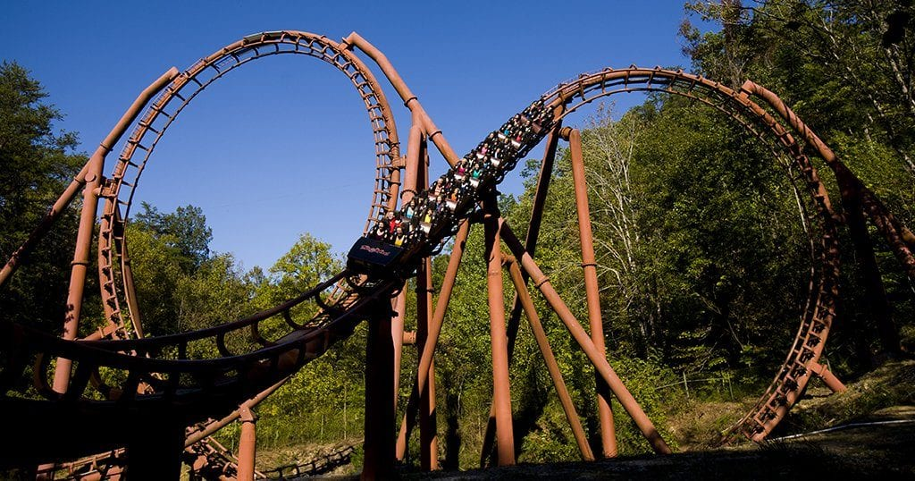 Best Rides at Dollywood - The Tennessee Tornado