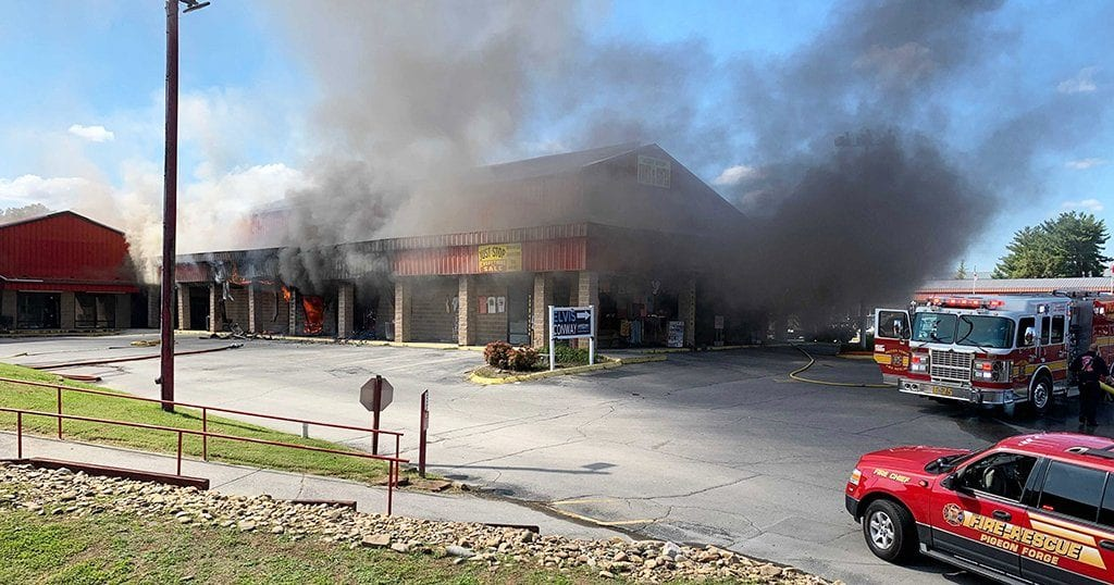 Fire at Red Roof