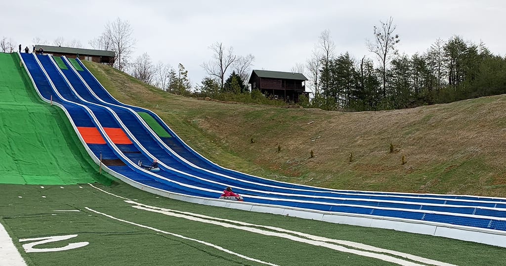 Outdoor Tubing Hill