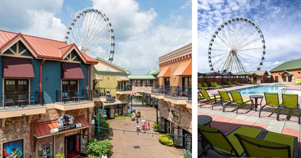 Built in 2014, the Margaritaville Island Hotel is considered to be one of the most luxurious hotels in Pigeon Forge (photo courtesy of Margaritaville Island Hotel)