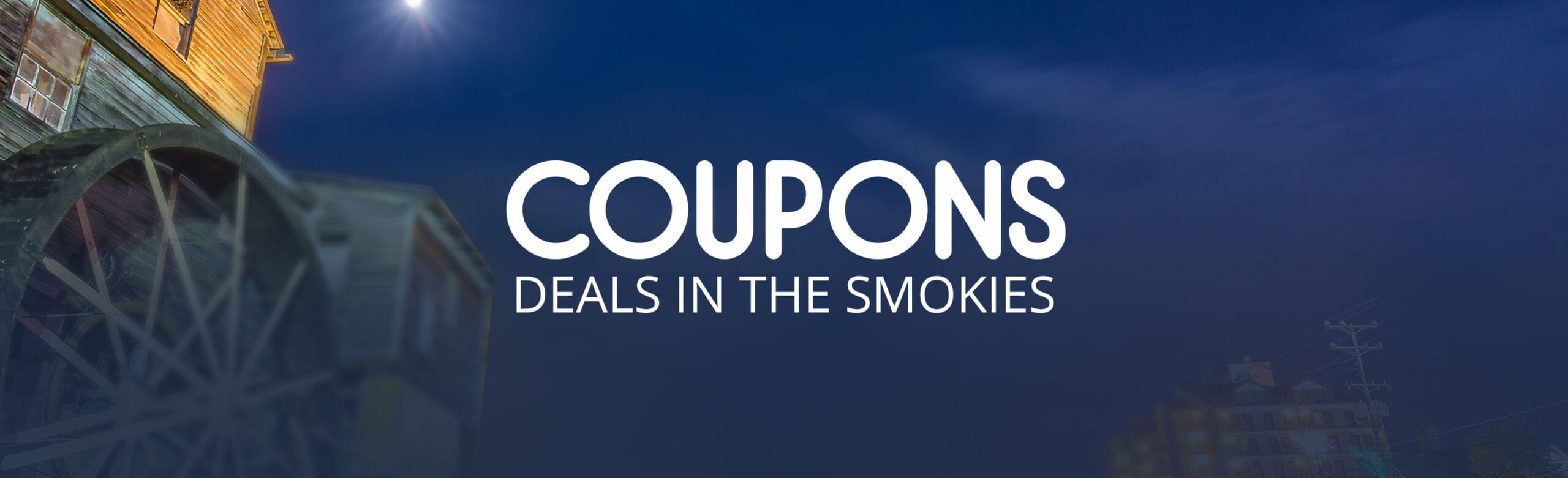 Area coupons on attractions and dining