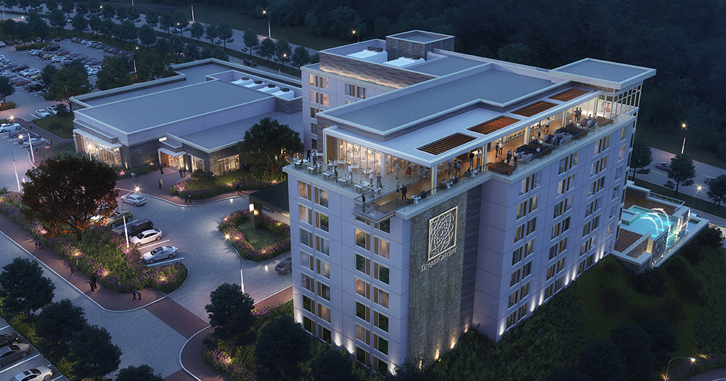 The recently announced DreamCatcher hotel project is slated for 2023 (submitted photo by Mountain Mile Mall)
