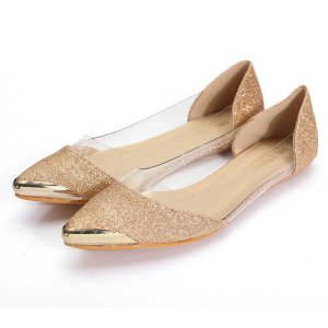 Transparent Flat Shoes Online