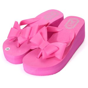 Butterfly Knot Beach Slippers Online