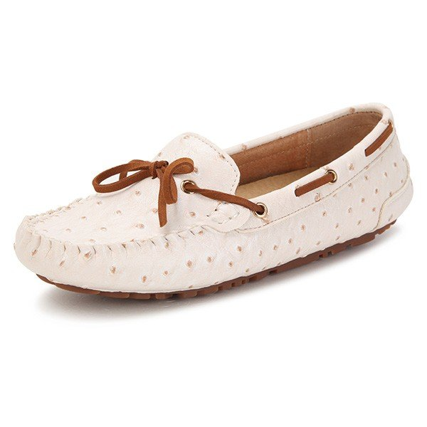 Butterfly Knot Shoes Flat Loafers Online