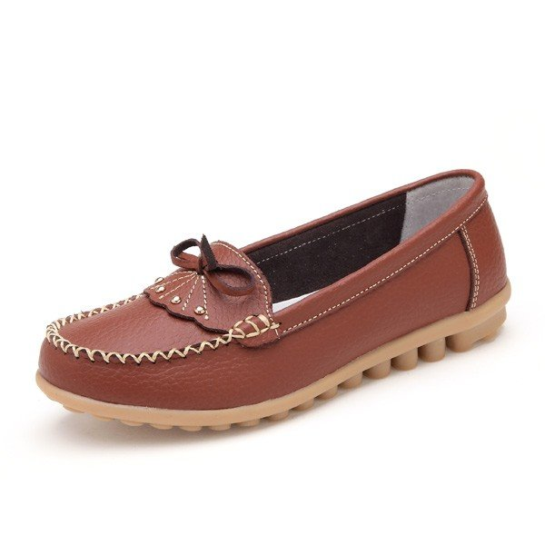 Butterfly Knot Flat Casual Shoes Online