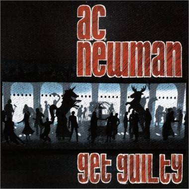 AC Newman Get Guilty album cover image