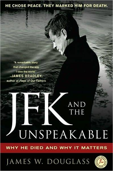 JFK and the Unspeakable book jacket