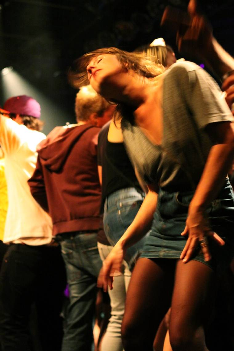 Dancer at Major Lazer show photo