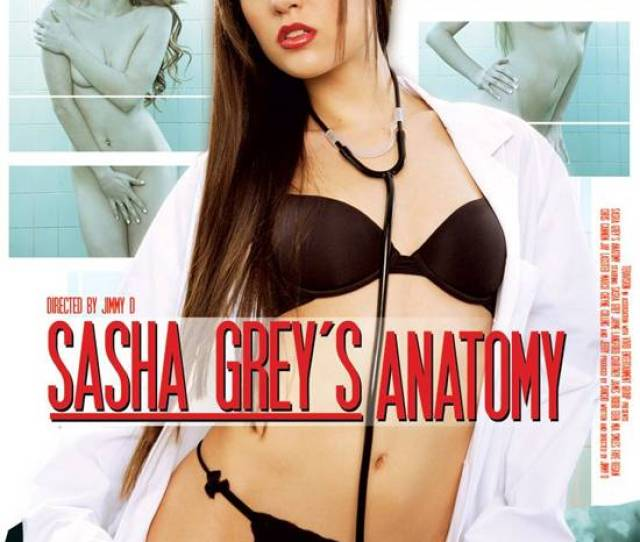 Sasha Greys Anatomy Cover Image