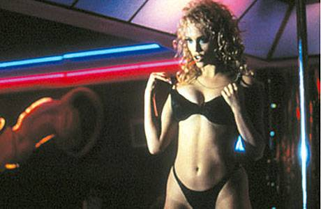 Elizabeth Berkeley in Showgirls.