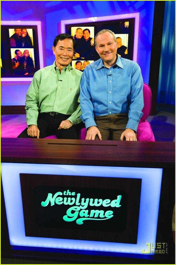 George Takei and Brad Altman on The Newlywed Game