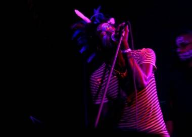 Saul Williams concert photo