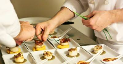 Scallops Three Ways