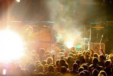 Dinosaur Jr. concert photo
