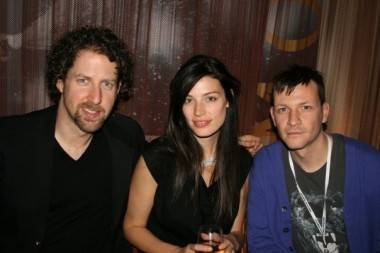Jessica Pare and Paul Anthony